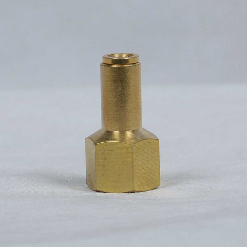 Straight,Female NPT Fixed brass push in fittings